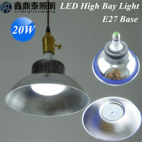 Wholesale 20pcs/lot High Bay Light 20W LED Lamps E27 Blub Supermarket home decoration led pendant light