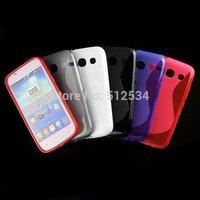 10pcs/lot&Free Shipping New S Line TPU back case For Samsung Galaxy Star Advance G350E