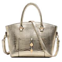 NEW Crossbody Bag Fashion Shoulder Bags Crocodile PU Women Bag Candy Color Women Messenger Bags vintage Women Handbag
