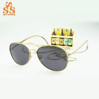 Classic Brand Steampunk Vintage Sunglasses,Celebrity Style Metal Chain Fashion Sun Glasses,High Grade Women Gafas De Sol G346