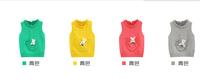 The new autumn 2014 Little rabbit children open buckle sweater vest