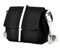 2014 men's new men's casual canvas shoulder bag man bag Messenger bag business ,black ,gray ,blue ,3046