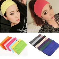 2014 Fashion hair jewelry Europe ancient Elastic Headband for women yoga Lady's hair Headbands 5.5 inch Free shipping