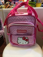 Free Shipping Hot Selling Cute Hello Kitty Women Backpack School Bags High Quality Fashion Lady Cartoon Casual Purse Shoulderbag