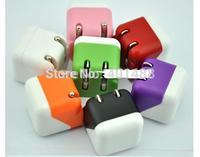 1A Universal US/EU plug Mini Folding USB AC Power Adapter Wall Charger For iPhone 6 5S 5C 4 4S 3G Samsung Galaxy HTC Blackberry