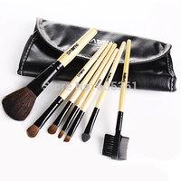 Free shipping professional 7 pcs makeup brush set cosmetic brush beauty makeup tool