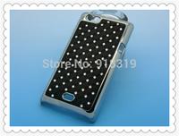 ST23 Case MOQ:1PCS Stock Bling Silver Case Rhinestone Diamond Case For Sony-Ericsson Xperia miro St23i St23a  Case
