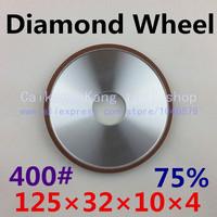 400# .Parallel resin diamond grinding wheel, Grinding wheel, diamond grinding wheel . 125*32*10*4 . 400#