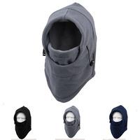 Winter Sport Hats For Men Women Prevent Ski Warm Outdoor Cap Masked Fleeces Military Hat Riding Headgear