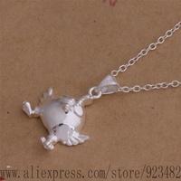 AN040 925 sterling silver Necklace 925 silver fashion jewelry pendant Fly eggs /akrajbya gecaovja