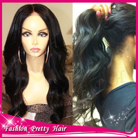 Virgin Brazilian Body Wave Lace Wig With Baby Hair Bleached Knots 150 Density Human Hair Full Lace Wigs Glueless For Black Women