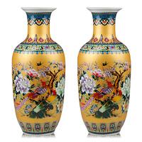 Ceramics quality fashion vase modern fashion living room floor decoration