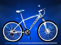 014 new bicycle 21 speed double disc brake 26 inch road ms male mountain bike Lander variable-speed discbrake aluminum alloy