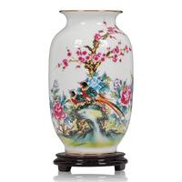 Ceramics vase modern fashion brief home decoration crafts decoration flower