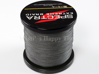 4 strands 100% Strong braided fishing line 1000M 50LB Grey 0.36mm PE Dyneema Spectra fishing line