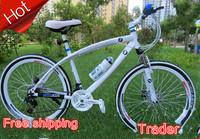 alloy frame speed double disc brake mountain bike