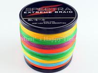 Multicolor Dyneema Spectra Extreme Braid Fishing Line 1000M 100% PE 1094 YARD 60LB 0.40mm fishing line
