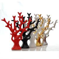 Modern fashion brief home decoration crafts decoration ceramic lucky money tree