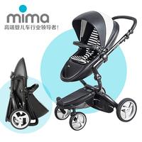 Mima xari baby stroller light folding multifunctional shock absorption baby car