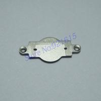 10Pcs/Lot Home Menu Button Keypad  Metal Cover Gasket Bracket for iPhone 5C Free Shipping Russia Brazil