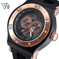 2014 Sport Rushed Watches Watches New Arrival Sale Life Waterproof Japanese Quartz Men Sports Watch Stainless Rubber Mens Casual