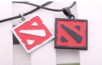 Unisex Online titanium steel Valve DOTA2 Pendant Necklace Gift