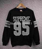 2014 new supreme sweatshirt men Supreme 95 Sweatshirts women hoodies outdoors sportswear Floral man hoody fashion clothing coat