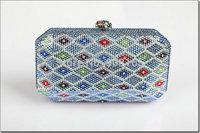 free shipping new arrival 2014 crystal purses high quality women brand handbags clutch handbag
