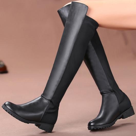 Черный женская обувь для зима и