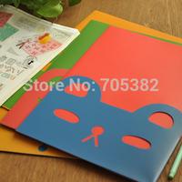 Cartoon animal shape documents pouch,good quality document folder,Stationery supplies,Free shipping(tt-963)