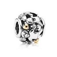 PS823 High-quality European 925 Sterling Silver FAMILY CHARM, Minimum order limited is US$15 in this store.