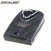 Hot Sale A380 Car Radar Detector English Version Anti-Radar Detector Full Band Laser Defense Car Speed Control System