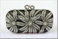 free shipping new 2014 Flower crystal women bags women clutch handbag fashion bags BB5364