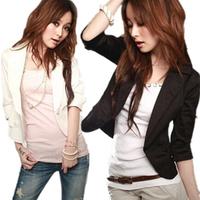 D30 New Design Women Autumn plus size S-XXL stylish comfortable coat Blazers Female Slim Small Suit outwear jacket