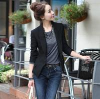 D31 New Design Women Autumn plus size S-XL Chiffon Blends stylish comfortable coat Blazers Female Slim Small Suit outwear jacket