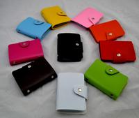 High quality credit card holder unisex business card case ID wallet bag vintage design 30pcs