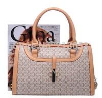 free shipping world famous  fashion PU women handbag