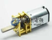 6V 60RPM 12GA Torque Gear Box Motor 40mA Torque 0.2kg cm