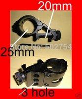 45 degree offset Picatinny Fenix TK 6P 20mm rail Flashlight Laser Scope Mount for CREE XM-L T6 lamp torch Gun Rifle Shotgun