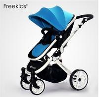 Freekids bidirectional four wheel baby stroller pushchair trolley free shipping