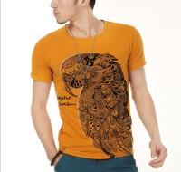2014 summer  o neck mens t shirts print camisa polo masculina ralph casual shirt undershirt clothing man t-shirts clothing