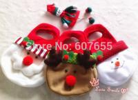 Christmas Eve Cute Little Carry Bag Christmas Tree Outdoor Decoration Ornaments Elk Snowman Santa Claus Gift Bag