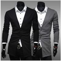 Blazer -Slim -Formal -Workman -Office Single-Breasted Blazer Ternos Masculino 2014 Clothing Fashionable Blazer For Men Brand
