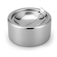Thickened windproof shaped ashtray ashtray ashtray stainless steel fashion novelty gifts