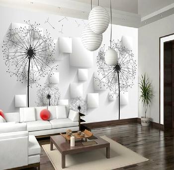 Menyesuaikan ukuran mural papel de parede foto wallpaper gulungan
