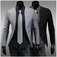 Blazer Male Terno Slim Fit High Quality Mens Casual Blazer Korean Fashion Clothing Single Button Fashionable Blazer For Men