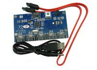 1 To 5 Port SATA Card SATA 2.0 Port Multiplier Card  SATAII Riser card