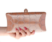 charms luxury diamond evening bags , quality women chains shoulder bag ,party , wedding bride bag women handbags 6 color