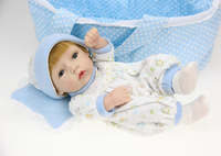 reborn baby dolls silicone vinyl doll toys for childrens baby doll toys