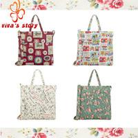 2014 NEW cath women's clutches handbag shoulder messenger bags double handle cotton bag shop vintage designer of famous brand